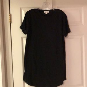 Black T-Shirt Dress.